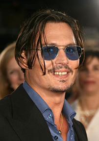 Johnny Depp at Public Enemies premiere June 23 2009