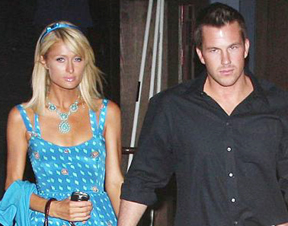 Paris Hilton and Doug Reinhardt on June 8, 2009