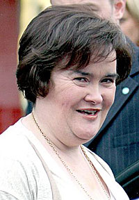 Susan Boyle shopping on June 5, 2009