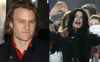 Heath Leger & Michael Jackson