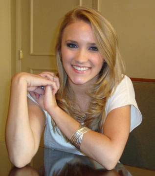 Emily Osment in Toronto August 25, 2009