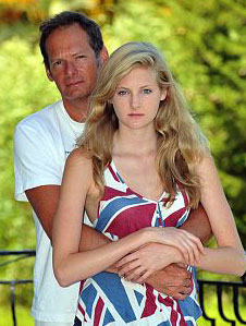 Mark Lester and daughter