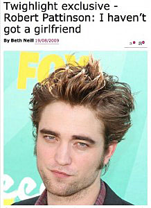 Rob Pattinson/Mirror