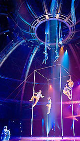 Cirque du Soleil photo by Julie Aucoin