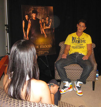 Stephanie Gobin interviews Bronson Pelletier