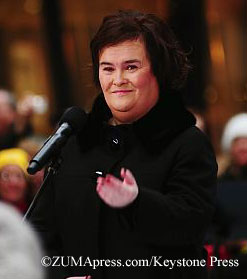 Susan Boyle performs in NYC