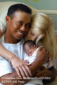 tiger_woods_family