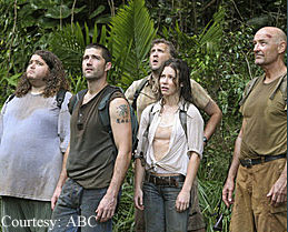 A scene from Lost
