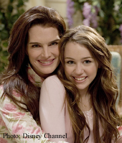 BROOKE SHIELDS, MILEY CYRUS