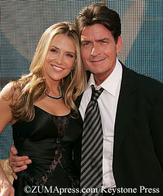 Brooke and Charlie Sheen