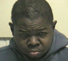 Gary Coleman booking photo