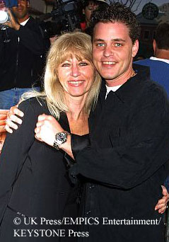 Corey Haim and his mother, Judy
