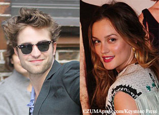 Rob Pattinson & Leighton Meester