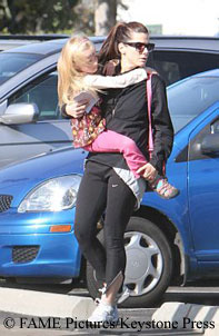 Sandra Bullock with Sunny