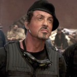 Sylvester Stallone on top of the box office