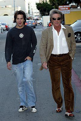 rod stewart s son arrested celebrity gossip and movie news