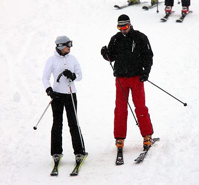 kate middleton and prince william skiing. Prince William and Kate