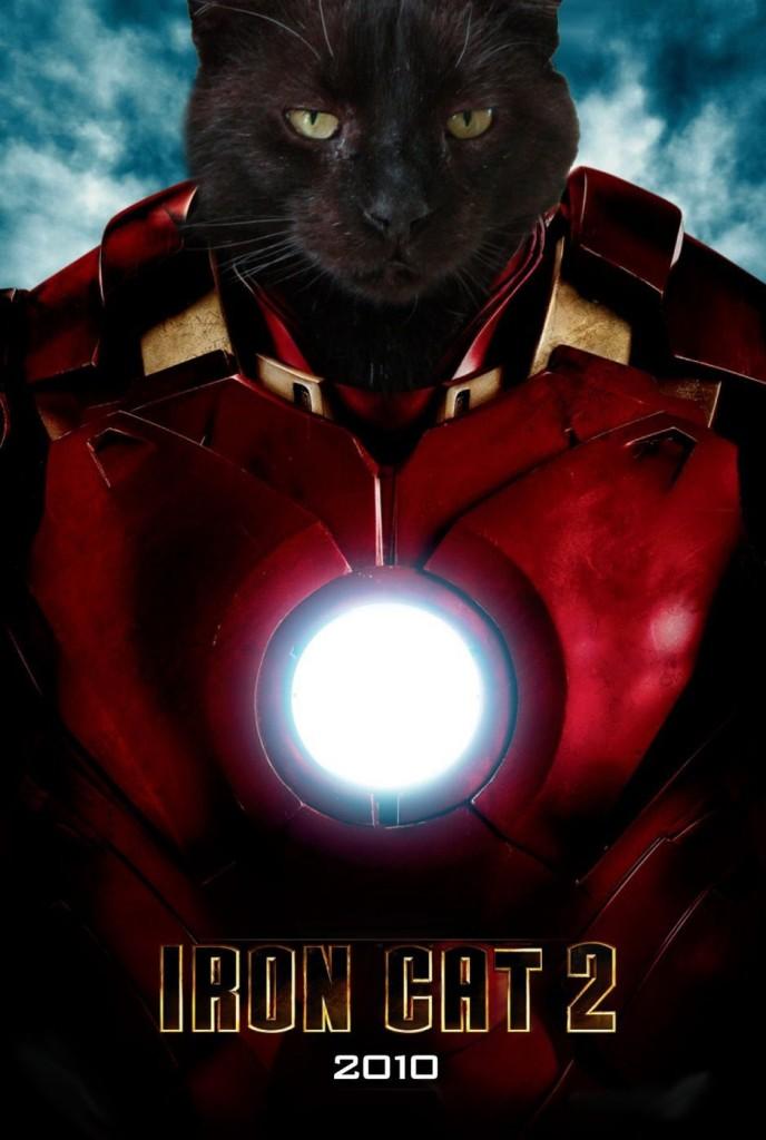Cat Warrior Poster
