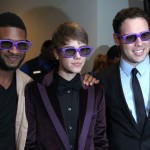 Usher, Justin and Scooter Braun