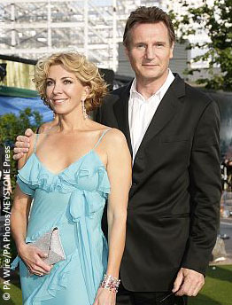 Natasha Richardson and Liam Neeson in 2008