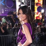Selena Gomez wore purple, Justin's favorite color