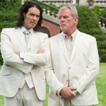 Russell Brand as Arthur and Nick Nolte as Burt Johnson