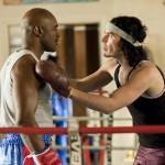 EVANDER HOLYFIELD as Boxing Trainer and RUSSELL BRAND as Arthur