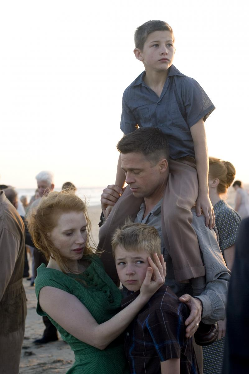 Terrence Malick's The Tree of Life , starring Brad Pitt, Sean Penn ...