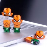 Green Lantern Mimibot USB flash drives