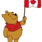 Happy Canada Day from Winnie the Pooh