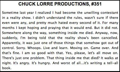 Chuck Lorre Burns Charlie Sheen 171 Celebrity Gossip And