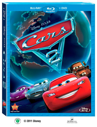 Image result for Cars 2 2011 bluray