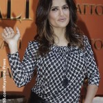 Salma Hayek: France's newest Knight