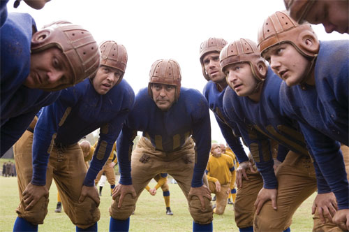 Old-time football hero Dodge Connolly (George Clooney) attempts to turn his bar-brawl team of players into stadium pros by recruiting college star, Carther Rutherford (John Krasinski), the complete package with good looks, charm, and impressive skills on the field. When a beautiful young journalist starts hanging around, Dodge suddenly finds himself on not-so-friendly terms with […]