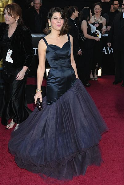 Marisa Tomei looked very glam at last year's Academy Awards, but only till about her hips, at which point her couture Charles James dress expanded into one hot poofy mess. Photo: ©ZUMAPRESS.com/Keystone Press