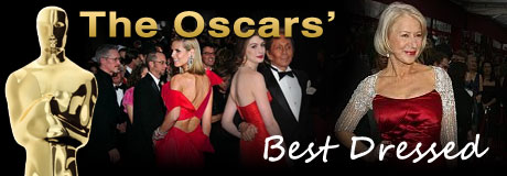Here are our choices for some of the best-dressed celebrities at the Academy Awards!