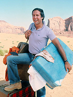 Chevy Chase as Clark Griswold
