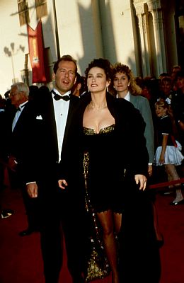 In 1989, Demi Moore tried her hand at designing her own outfit for the 61st Academy Awards and let's just say she should've left it up to the pros. The top wasn't too bad with a fitted velvet bodice but the bottom half left people scratching their heads. It was a floor-length skirt but only […]