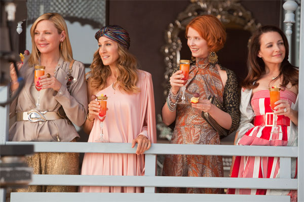 Carrie (Sarah Jessica Parker), Miranda (Cynthia Nixon), Charlotte (Kristin Davis) and Samantha (Kim Cattral) take an exotic trip to Abu Dhabi. Samantha, through her ex-boyfriend Smith Jerrod (Jason Lewis), scores an all-expenses paid trip to the Middle East. While there Carrie unexpectedly runs into her former fiancé Aidan (John Corbett).