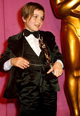 Tatum O'Neal was 10-years-old when she won Best Supporting Actress for her role in Paper Moon in 1974. She had everyone talking about her adorable mini-tuxedo, which she had made just for the event, because she was in awe of Bianca Jagger, who wore pant suits. ©ZUMAPRESS.com/Keystone