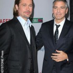 George Clooney, Brad Pitt team for gay rights