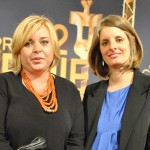 Larysa Kondracki (middle) and Christina Piovesan (right) of The Whistleblower