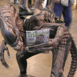 Even Aliens enjoy reading Tribute