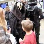 Darth Nihilus intimidates some young guests