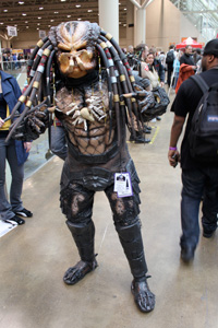 Predator is ready for his close-up