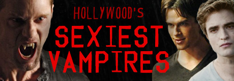 Blood-sucking vampires seem to never get old, especially when they look this good. From modern television shows to classic fantasy flicks, here's a list of Hollywood's sexiest male vampires.