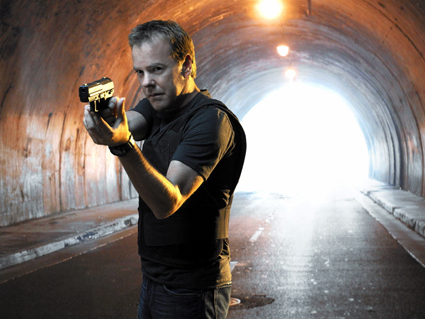 It's all in a day's work for Counter Terrorism Unit (CTU) Agent Jack Bauer (played by Kiefer Sutherland). The secret agent refuses to play by the rules, often resorting to extraordinary measures to gather information and prevent terrorist attacks on American soil.