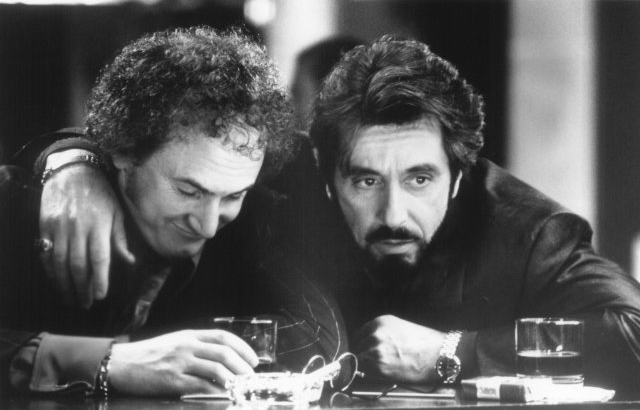 Starring Al Pacino and Sean Penn, Carlito's Way follows a Puerto Rican ex-convict who pledges to stay away from his old habits such as drugs and violence despite the pressure surrounding him. This is one of Brian De Palma's best known films and a cult favorite within the gangster movie genre.