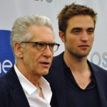David Cronenberg and Rob Pattinson