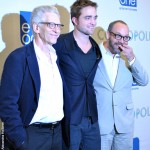 David Cronenberg, Rob Pattinson and Paul Giamatti